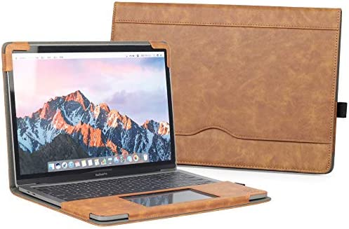 TYTX Compatible with MacBook Pro Leather Case 13 Inch Retina 2013 2015 A1502 A1425 Laptop Sleeve product image