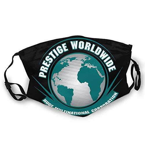 Jopath Prestige Worldwide Halswärmer Schal Gamasche Kopfbedeckung Mundschutz-OneSize- Black-one_Color-