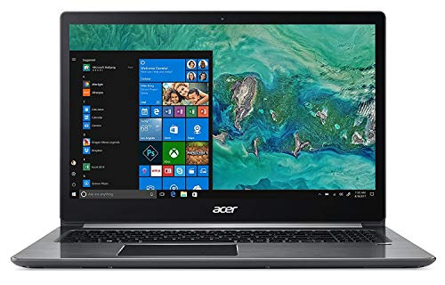 Acer Swift 3 SF315-41G-R6MP Laptop, 15.6in Full HD IPS Display, AMD Ryzen 7 2700U, AMD Radeon RX 540 Graphics, 8GB DDR4, 256GB SSD, Windows 10 (Renewed)