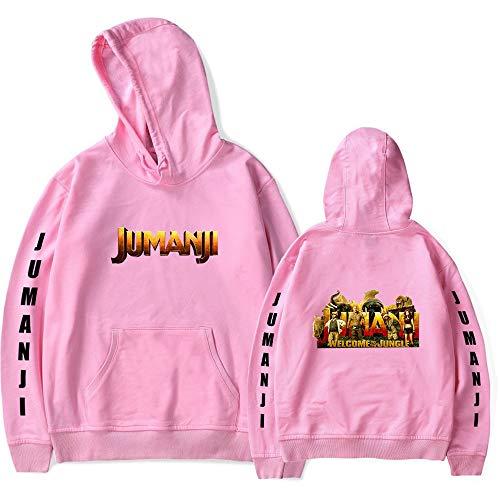 The Next Level Hoodie Jumanji Hoodie Brave Game Dr. Bravestone Sudaderas Pullover Cosplay Disfraz para Hombres y Mujeres