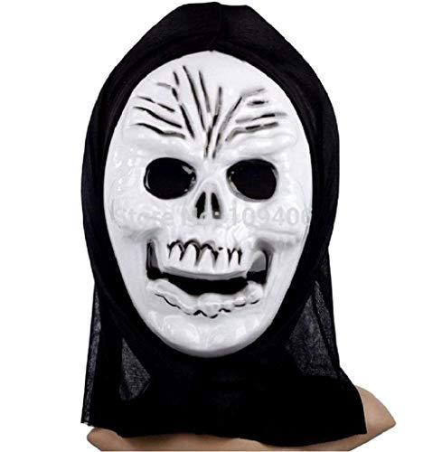 EVRYLON Cráneo máscara niño Esqueleto Zombie Monstruo Muerte Huesos un tamaño