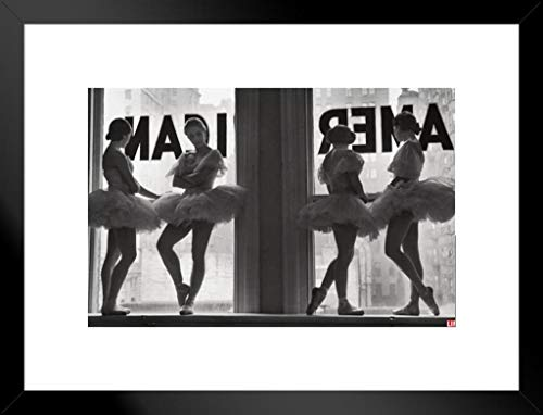 Pyramid America Time Life Ballet Dancers Photo Art Print Matted Framed Poster 20x26 inch