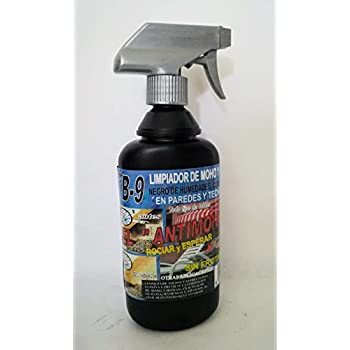 Clean Factor B-9 Limpiador Antimoho, Elimina Moho, Hongos, Negro ...