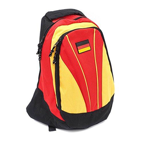 Rucksack Deutschland, City Rucksack, Fußball, Sport, WM, EM, Germany Backpack