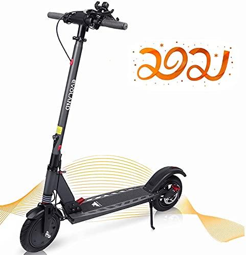 EVOLAND Patinetes Eléctricos, Scooter Electrico Plegable para Adultos con una Velocidad Máxima...