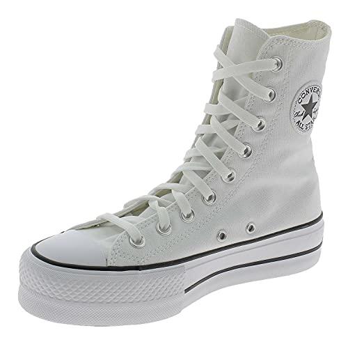Converse Chuck Taylor All Star Platform High Top Zapato Deportivo Mujer Blanco 170522C