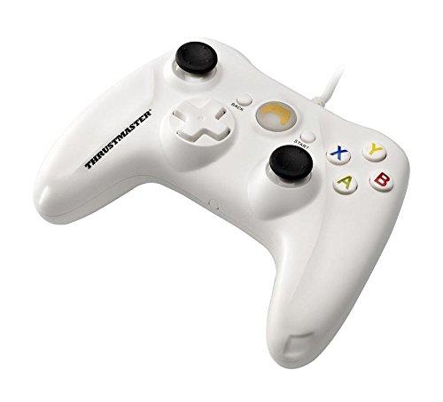 Thrustmaster GP XID Gamepad - Compatible PC - Plug & Play - Conexión USB - Blanco