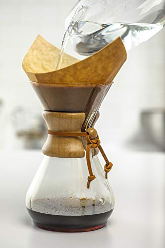 Chemex Pour-Over Glass Coffeemaker - Classic...