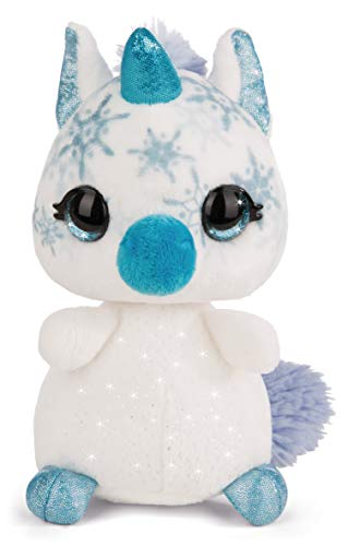 NICI- NICIdoos Unicornio Invernal, Color Blanco (1