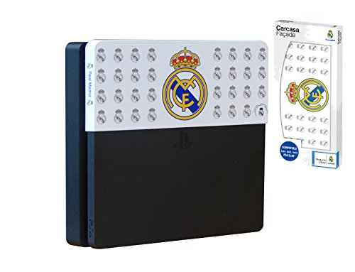 Subsonic - Faceplate Carcasa Customizada Licencia Oficial Real Madrid (PS4 Slim)