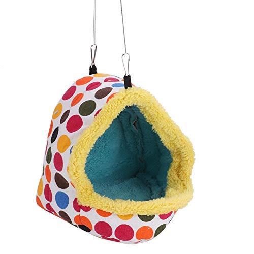 SALUTUYA Saco de Dormir Colorido y diseño de Moda para Loros(Medium)