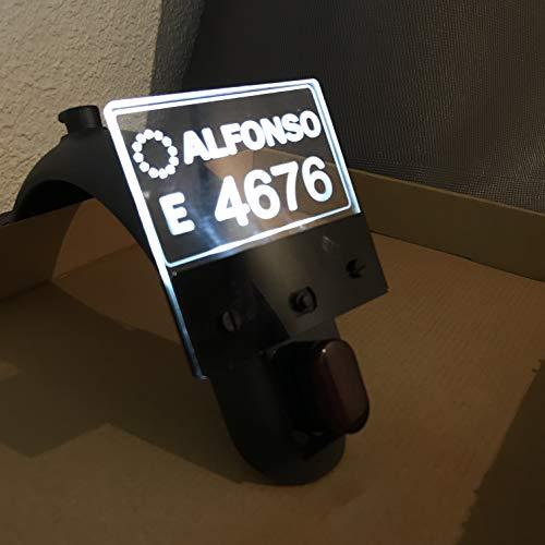 LEOANDMENA gepersonaliseerde LED-lamp voor Xiaomi Mijia M365 / M187 / Pro