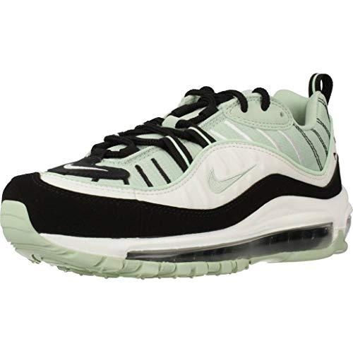 Nike W Air MAX 98, Zapatillas para Correr Mujer, Pistachio Frost Pistachio Frost Black Summit White, 36.5 EU