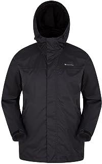 Mountain Warehouse Torrent Mens Waterproof Rain Jacket - Lightweight