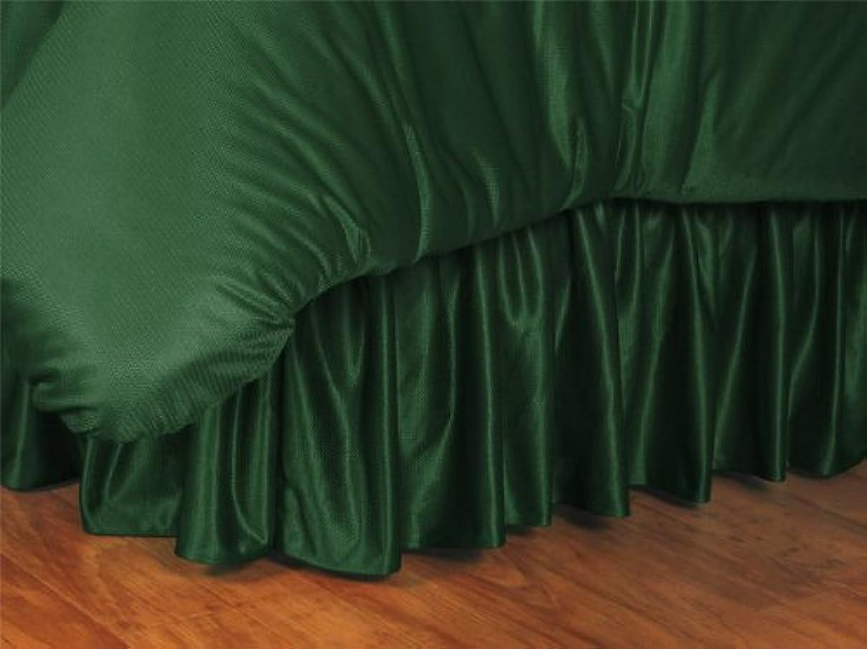 NCAA Oregon Ducks Bed Skirt, Twin, Dark Green