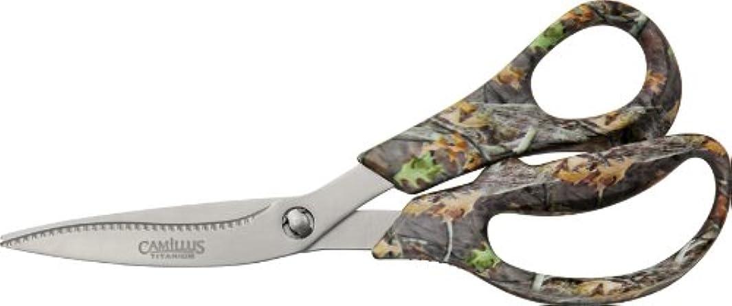 Camillus Titanium Bonded Game Shear with Ballistic Nylon Sheath, Camouflage, 8-Inch