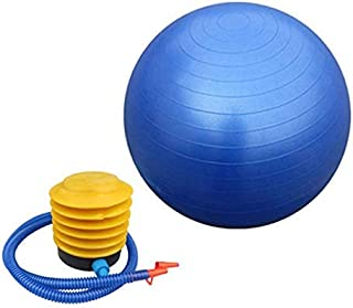 ANTI BURST GYM EXERCISE YOGA FITNESS BALL PREGNANCY BIRTHING 55CM / 65CM Blue Colored