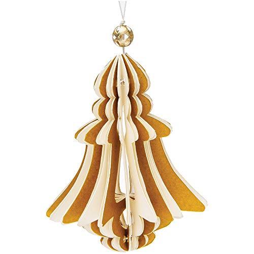 Luna Bazaar Fitzgerald Design Origami Ornament (4.5-Inch,...