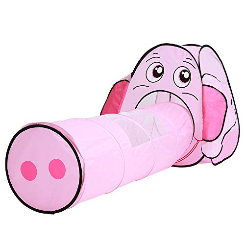 Fantastic Prices! Sviper Kids Play Tunnels Children's Kids Foldable Play Tent Tunnel Elephant Shape ...
