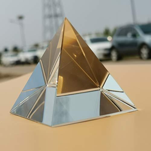 NO LOGO LSB-prismas, SpectrumTools Guía 1pc óptico K9 Prisma Pirámide de Cristal del Arco Iris de Cristal Fotografía Triángulo de Luz Ciencia Óptica de enseñanza