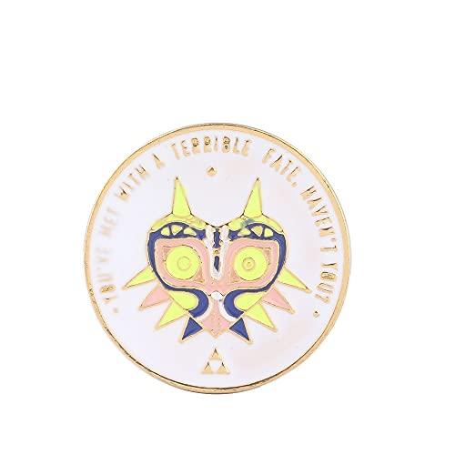 HHBB Moda broche triángulo insignia Pin hombres y mujeres accesorios de ropa