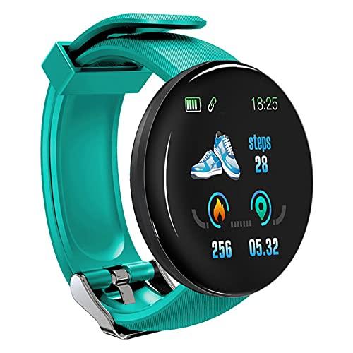 Dingyue Relojes Inteligentes Pulsera Inteligente Pantalla Redonda Frecuencia Cardíaca Monitoreo Salud Identificación de Llamadas