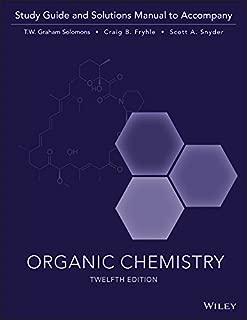 Best solomons organic chemistry 12e Reviews