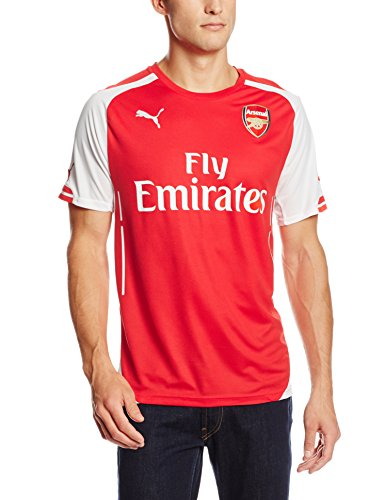 PUMA Mens Arsenal Licensed Replica Jersey 2014-2015, X-Large, Home