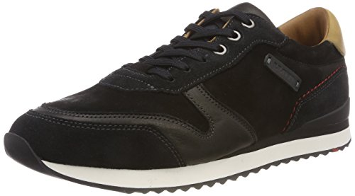 LLOYD Herren Eden Sneaker, Schwarz (Black 0), 44.5 EU