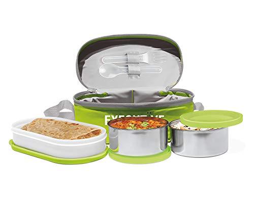 Milton Executive Plastic Lunch Box, 260ml, Green