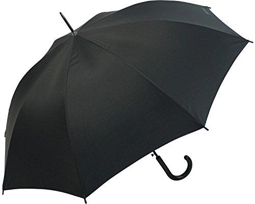 ESPRIT paraplu/stokscherm Long AC Basic, zwart, 50701
