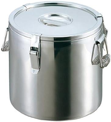 EBM ステンレス 二重保温食缶 43cm
