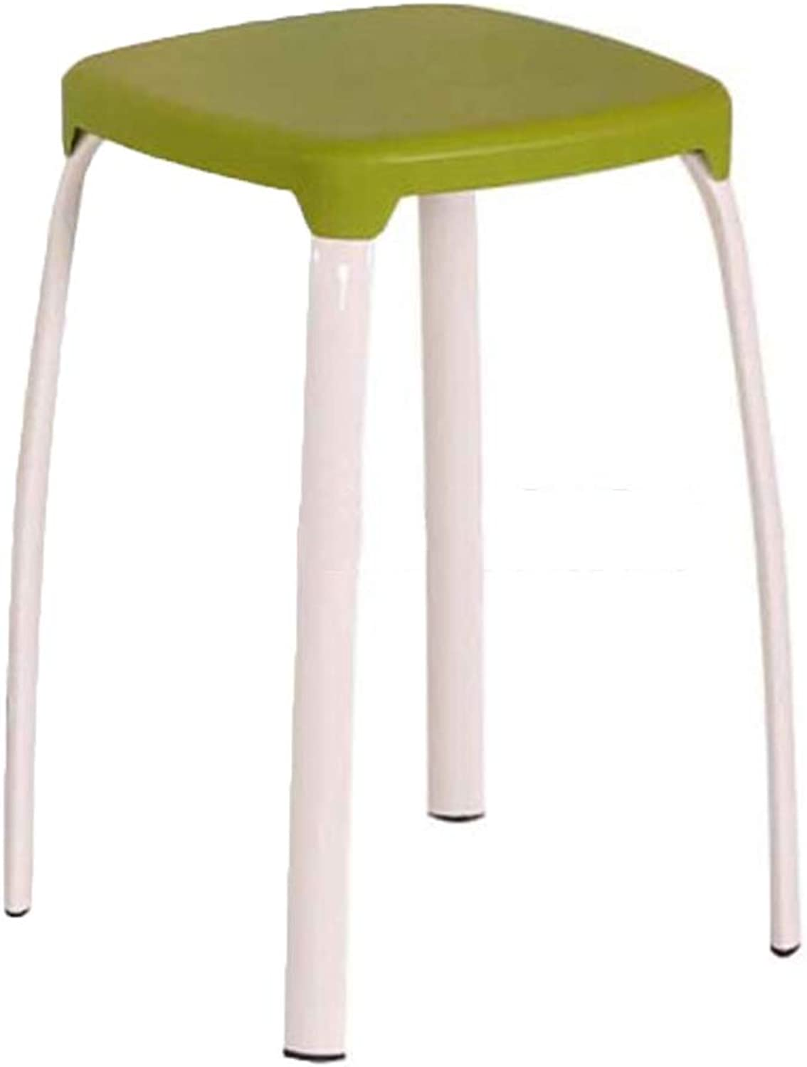 Stool Household Plastic Fashion Creative High Stool Thickening Simple Round Bench
