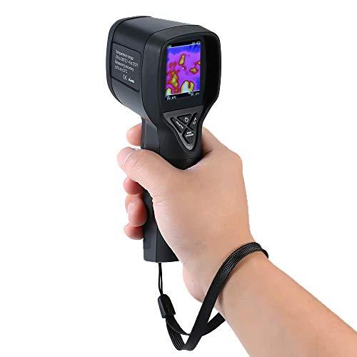 APROTII HT-175, infrarrojo (IR) Imágenes/pistola/detector térmico con resolución IR de 1024 píxeles rango de temperatura de -4 ~ 300 °C, velocidad de actualización de 6 Hz 2 pantalla LCD a color