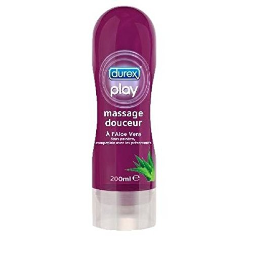 Durex Play Massagegel, mit Aloe Vera, 200 ml
