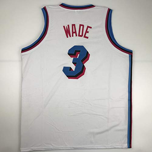 Unsigned Dwyane Wade Miami White City Vice Custom Stitched Basketball Jersey Size Men's XL New No Brands/Logos