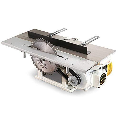 QWERTOUY 220V 2800r / min Multifuncional para carpintería Sierras eléctrico de Escritorio...