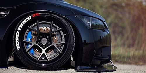Ps1 Toyo Tires R Reifenbeschriftung Reifen Aufkleber 4er Set Gummi Tire Tyre Sticker Set passend auf 14