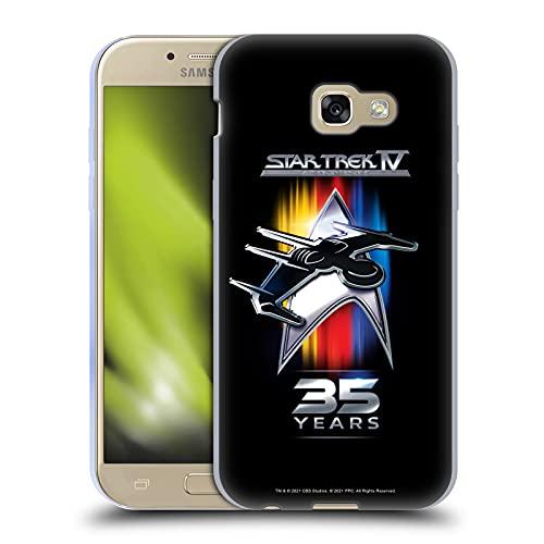 Head Case Designs Licenza Ufficiale Star Trek 35esimo Anniversario Voyage à la Maison Cover in Morbido Gel Compatibile con Samsung Galaxy A5 (2017)