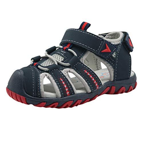 Schuhe Pwtchenty Sandalen für Jungen Jungenschuhe Sommer Sommer Hausschuhe Herren Neue Kindersandalen Sommersport rutschfeste Jugend-Strandschuhe