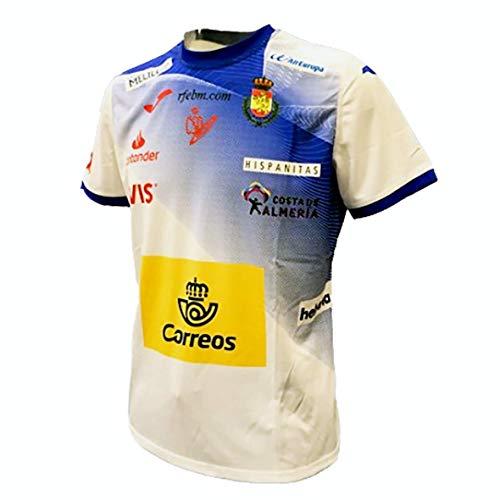 Camiseta Joma 2º Equipación Oficial España Balonmano Blanca Azul 2019 - M