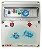 Swimhome Cuadro eléctrico para Piscina Guardamotor, Transformador 150W (1CV (4-6,3A))