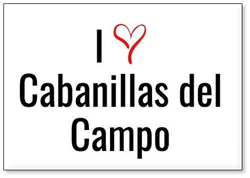 Mundus Souvenirs - Amo Cabanillas del Campo, Imán para Nevera (diseño 3)