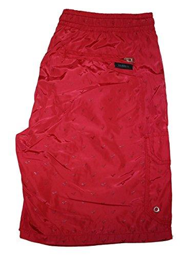 Voi Jeans Herren Shorts Small (Herstellergröße: Small) Rot - Ribbon Red