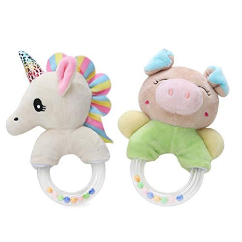 Faviye Soft Baby Sonajeros Cerdos Unicornio Juguete