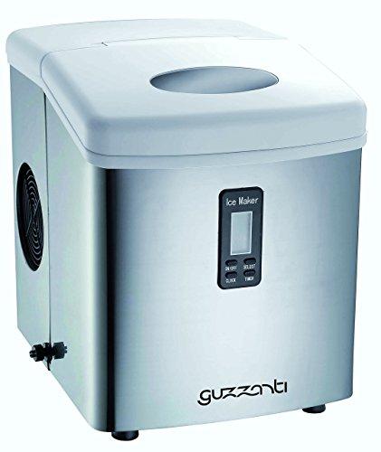 Guzzanti GZ 123 Macchina per Ghiaccio, 120 W, 3.2 Litri