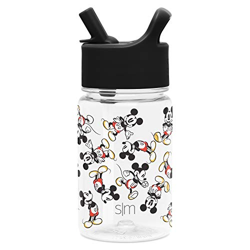 Simple Modern Kids Tritan Bottles, 12oz Water, Mickey Mouse: Retro
