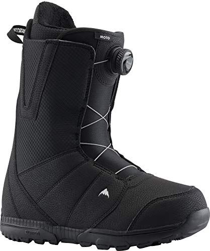 Burton Moto Boa Snowboard Boot - Men's Black, 12.0