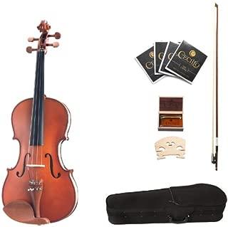 Cecilio CVA-400 14-Inch Solid Wood Flamed Viola