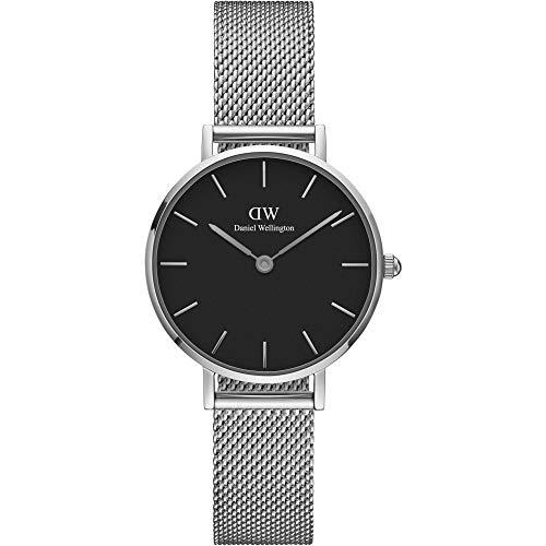 ダニエル ウェリントン DANIEL WELLINGTON 腕時計 DW00100218 DW00600218 シルバー 28mm CLASSIC PETITE STERLING クラシック プチ スターリング [並行輸入品]